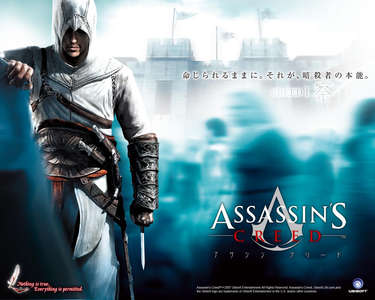 Assassin S Creed The Assassin S Wallpaper 35134583 Fanpop
