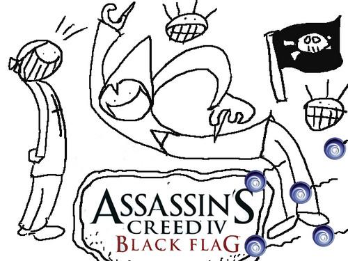 Assassins Creed 4 fan art poster