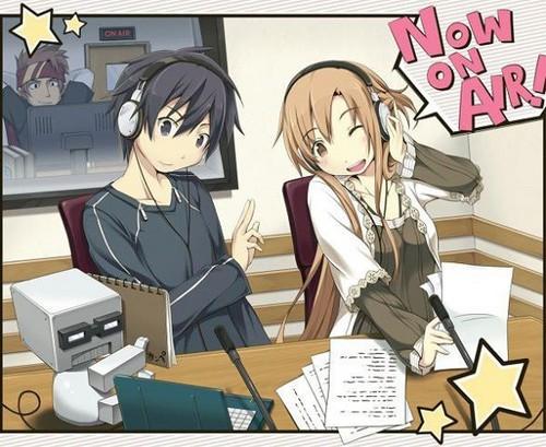 Asuna and Kirito