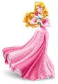 Aurora holding rose