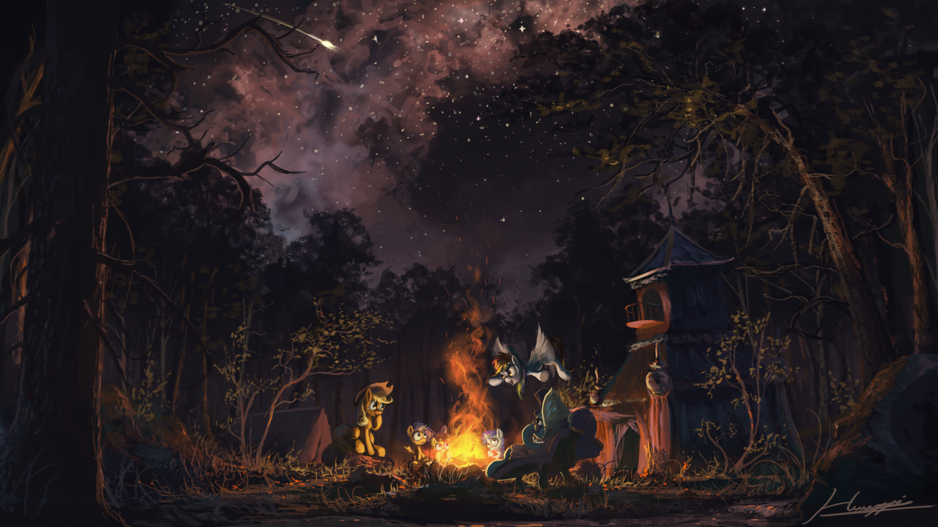 Awesome painting - My Little Pony Friendship is Magic ...