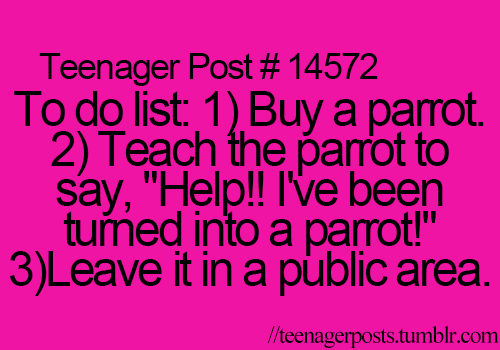 Awkward Teenager