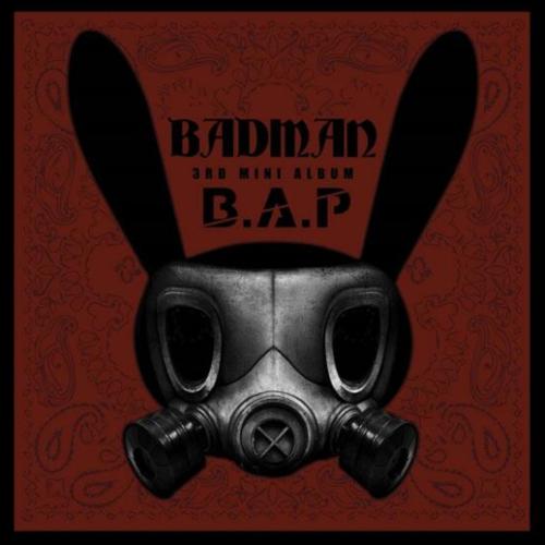 B.A.P 'Badman' album cover
