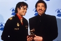 Backstage At The 1986 Grammy Awards - michael-jackson photo