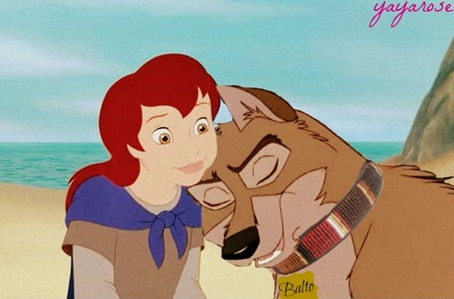 Balto and Young Kayley