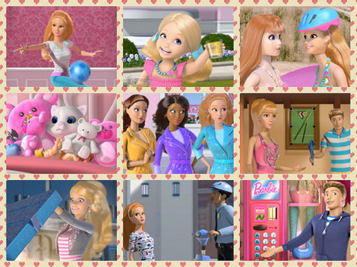 Barbie: Life in the Dreamhouse achtergrond entitled Barbie litd season 4