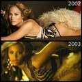 Beyonce copying Jennifer Lopez - JLo - music fan art