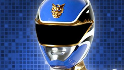 the power rangers wallpaper called Blue Power Ranger