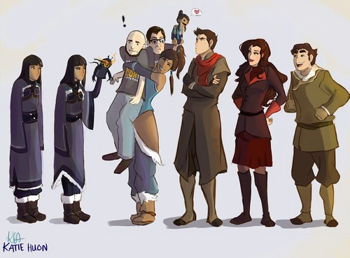Avatar, La Légende de Korra fond d'écran entitled Bryke and Krew