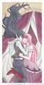 BubbLine - princess-bubblegum fan art