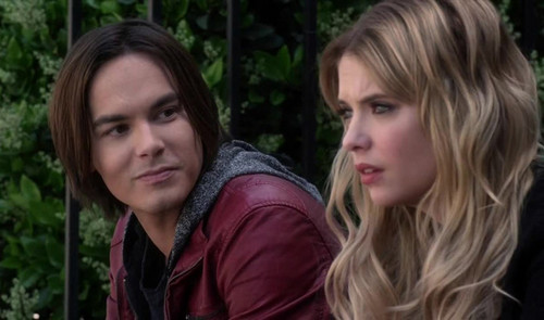 Hanna & Caleb wallpaper possibly with a portrait called Caleb & Hanna ♥