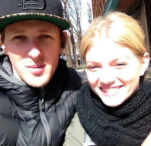 Cariba and her boyfriend Jamie Timony