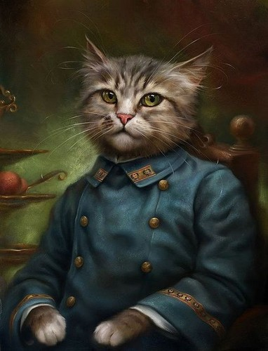 Katzen as Classical Paintings