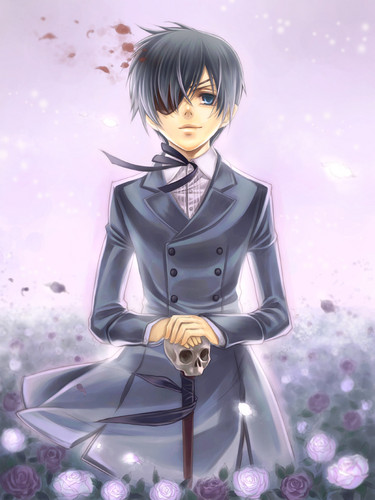 Ciel Phantomhive wallpaper possibly with a well dressed person and a business suit entitled Ciel Phantomhive