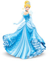 Cendrillon wearing tiara