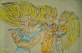 Collection of Super Saiyan 3. - dragon-ball-z fan art
