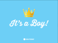 Congratulations to William and Kate! It's a boy!