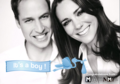 Congratulations to William and Kate! It's a boy! - prince-william-and-kate-middleton fan art