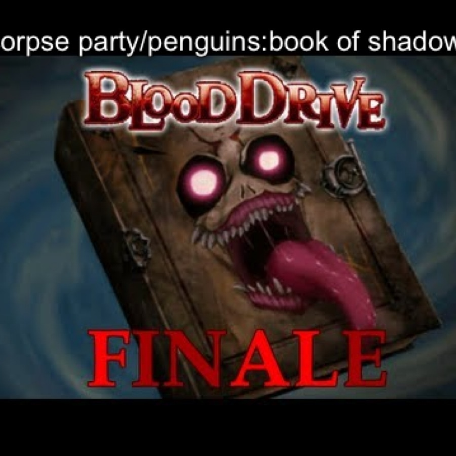 Corpse party/penguins book of shadows art