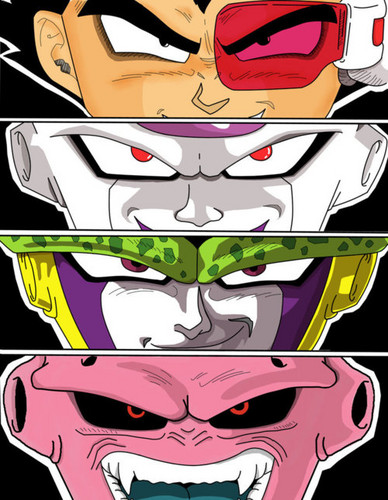DBZ Villains