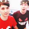 Dan Howell photo probably containing a portrait called Dan & phil