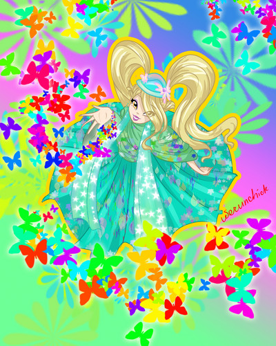 Daphne Spring Time - the-winx-club Fan Art