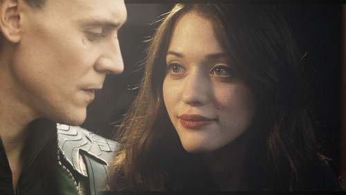 Darcy and Loki