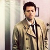 Castiel चित्र containing a trench कोट and a burberry, बरबरी called Dark Side of the Moon