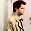 Castiel चित्र possibly containing a portrait entitled Dark Side of the Moon