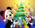 disney - Disney  Christmas Wallpaper wallpaper