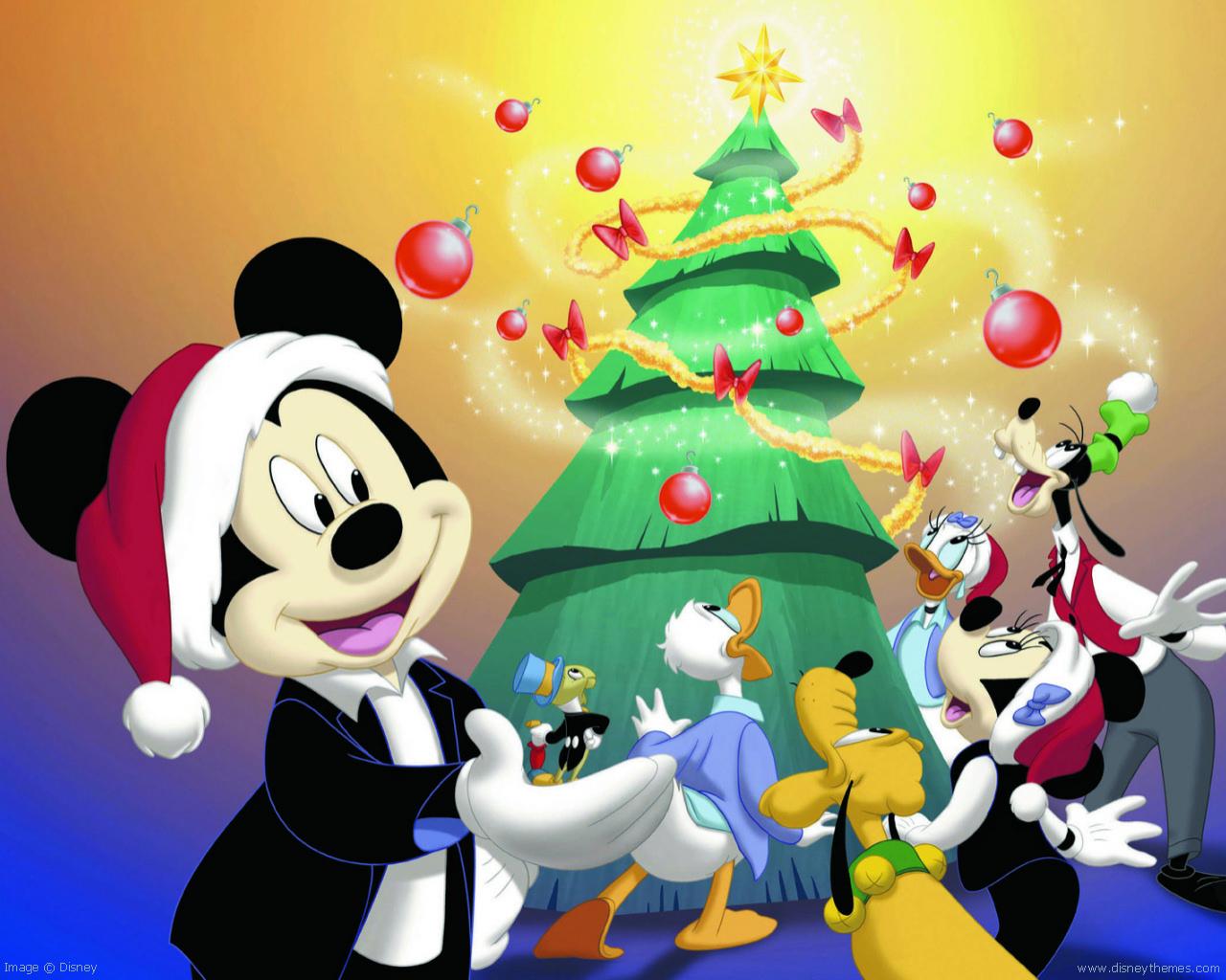 Мультики про рождество и новый год дисней