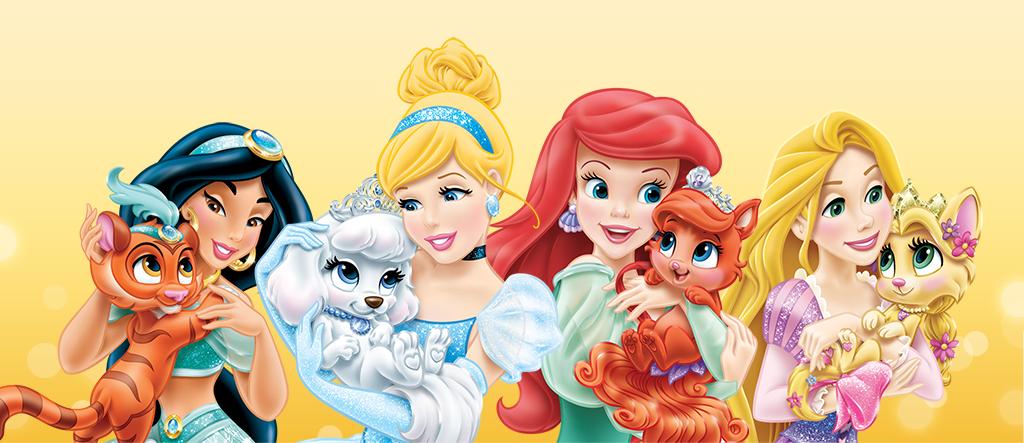 Disney princess palace pets disney princess 35155500 1024 443 png