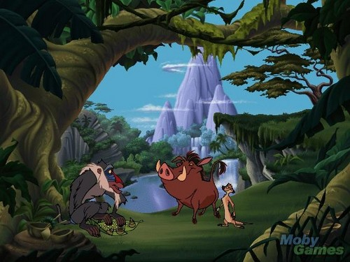 Disney's Adventures in Typing with Timon and Pumbaa