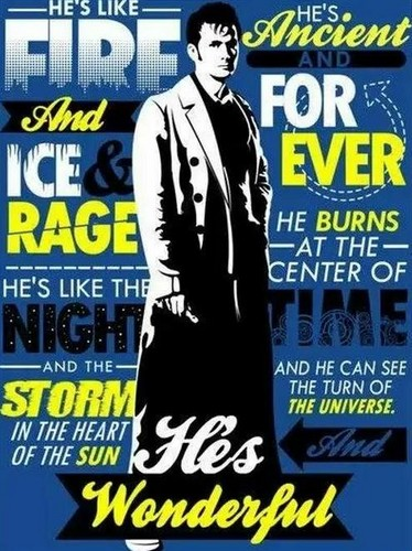 The Tenth Doctor wallpaper containing anime titled Doctor Who