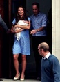 Duke and Duchess of Cambridge and their baby. <3 - prince-william-and-kate-middleton fan art