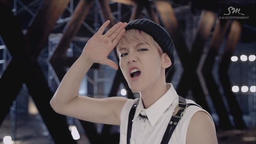 EXO - Growl Teaser - EXO-M Fan Art (35139061) - Fanpop