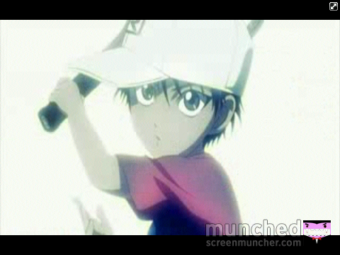 Prince of Tennis wallpaper titled Echizen munched some more