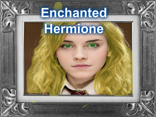Harry Potter Fans wallpaper entitled Enchanted Hermione