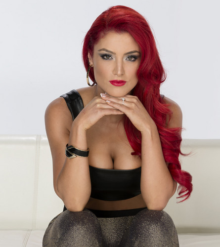 WWE Divas achtergrond possibly with attractiveness and a portrait titled Eva Marie