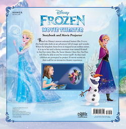 Frozen Movie Theater Book