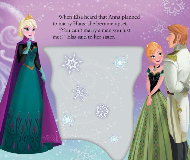 Frozen Movie Theater Book