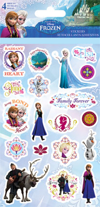 La Reine des Neiges Stickers