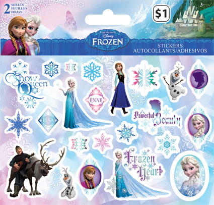 frozen Stickers