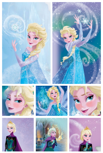 Frozen pictures from the new buku