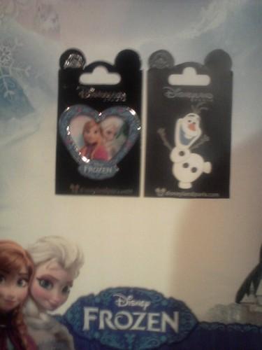 Frozen Trading Pins
