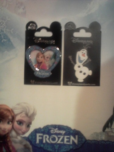 Frozen Trading Pins