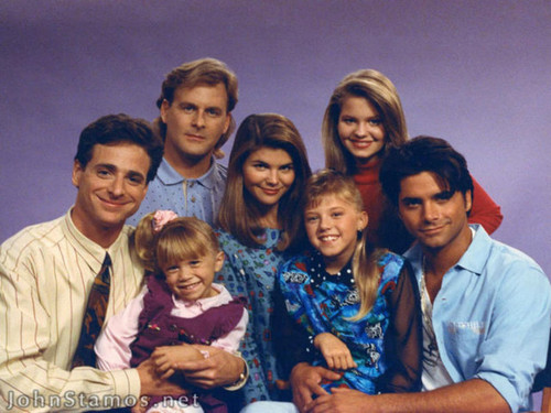 Memorable TV wallpaper possibly containing a portrait called Full House ★