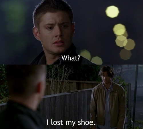 Supernatural Funny Quotes. QuotesGram Supernatural Sam And Dean Funny Moments