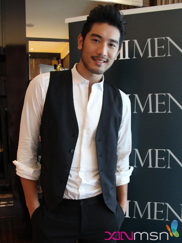 Godfrey Gao fondo de pantalla containing a business suit and a suit called G.G.
