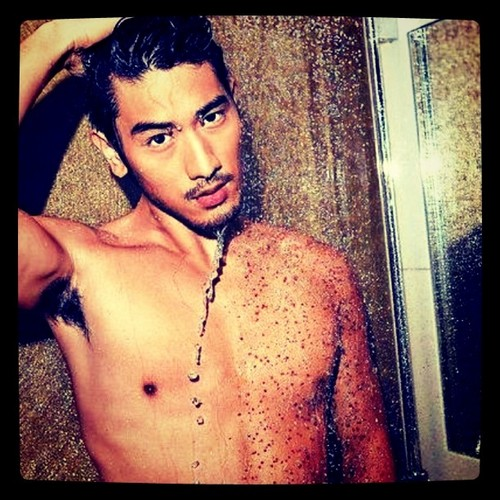 Godfrey Gao 壁纸 possibly containing a portrait and skin called G.G.